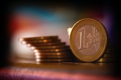 1 euro a peníz
