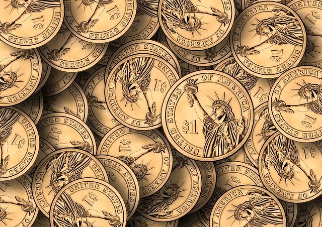 kovové dolary