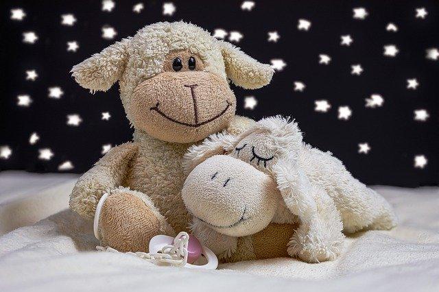 hračky plyšové ke spánku