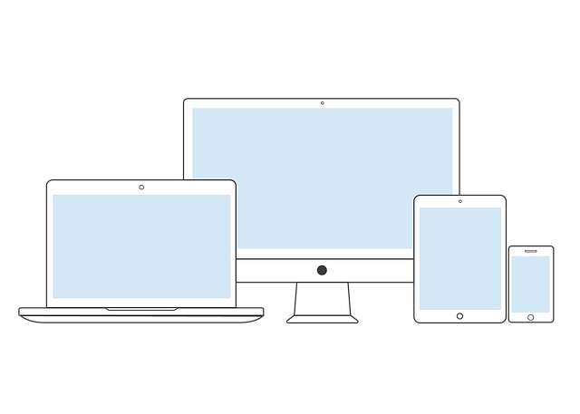 různá zařízení s připojením k internetu